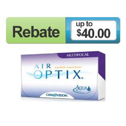 CIBA Vision - Air Optix Multifocal Contact Lenses