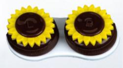 Eyekon - Contact Lens Case Flower Power  Contact Lenses